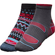 Alpine Design Women's Explorer Quarter Socks – 2 Pack