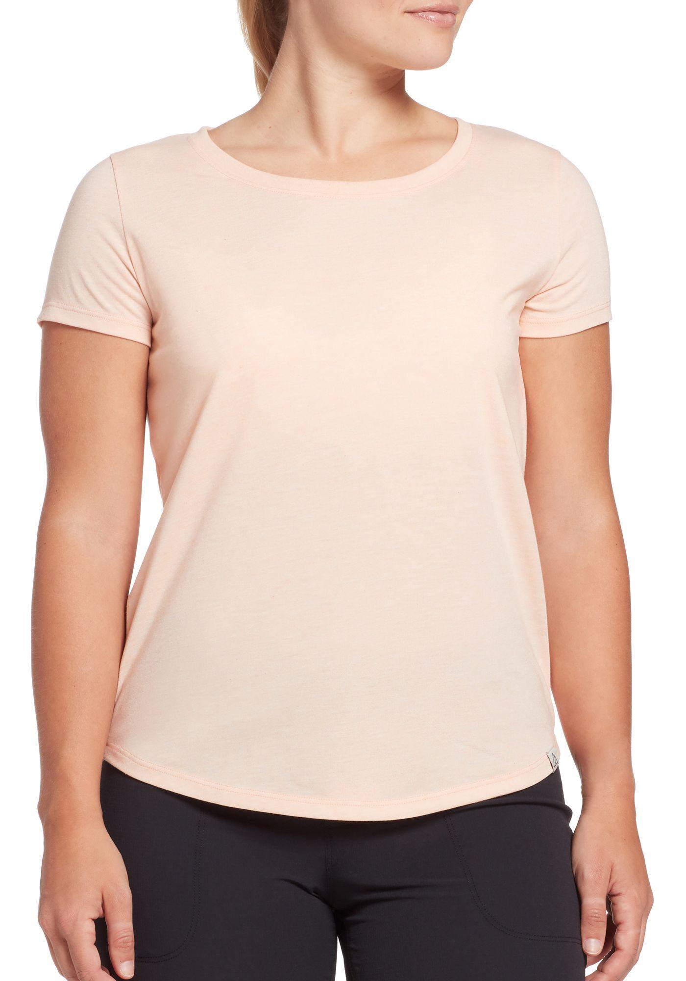 Alpine Design Women's First Mile Made Short Sleeve Solid T-Shirt