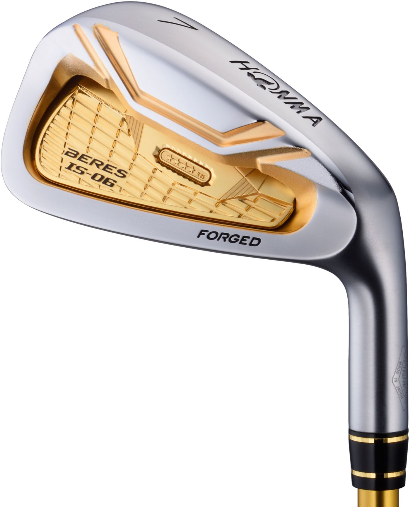 Honma Beres IS-06 4-Star Individual Irons – (Graphite)