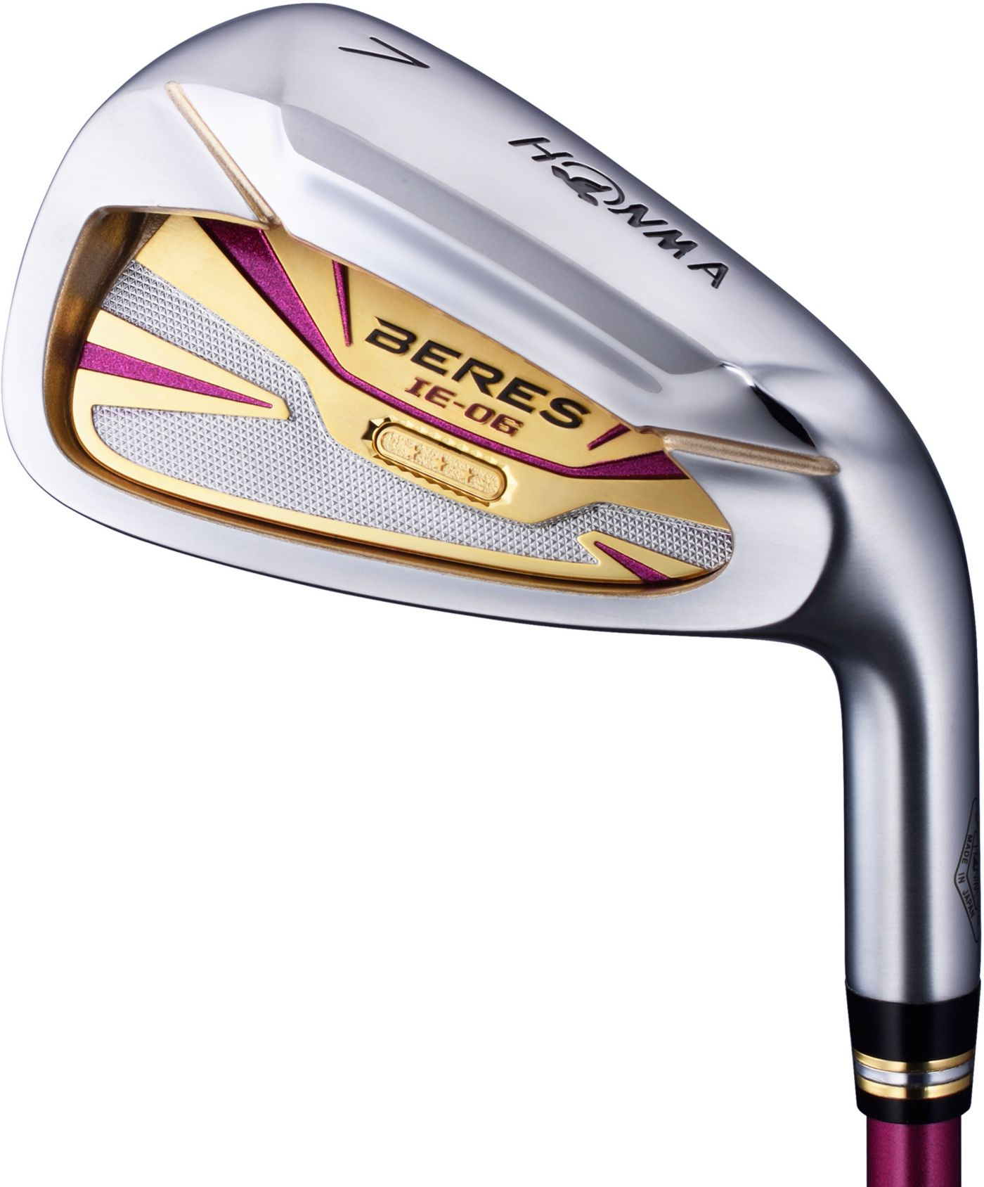 Honma Women's Beres IE-06 3-Star Irons – (Graphite)