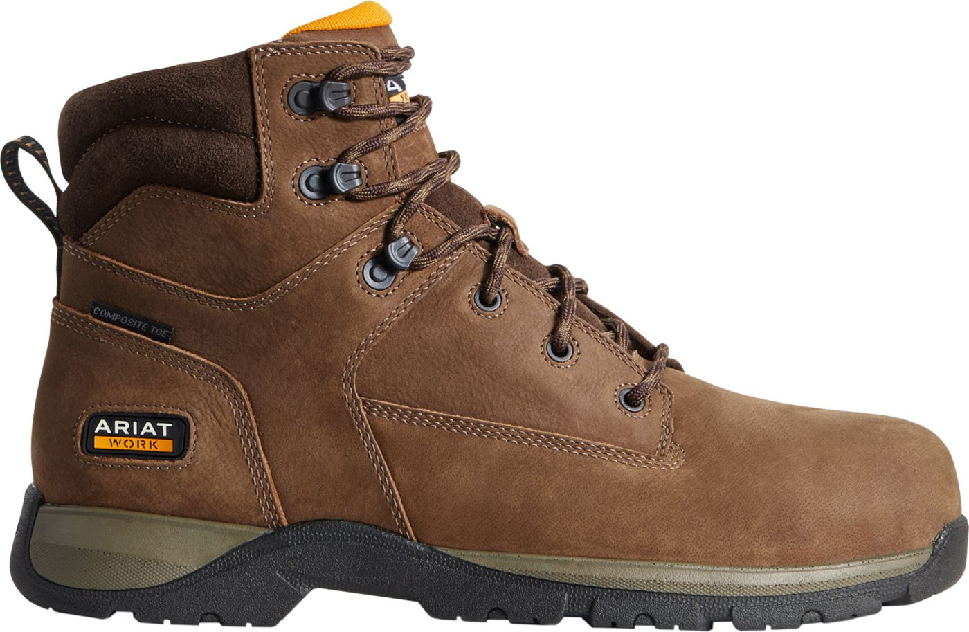 Ariat Men's Edge LTE 6'' Composite Toe Work Boots