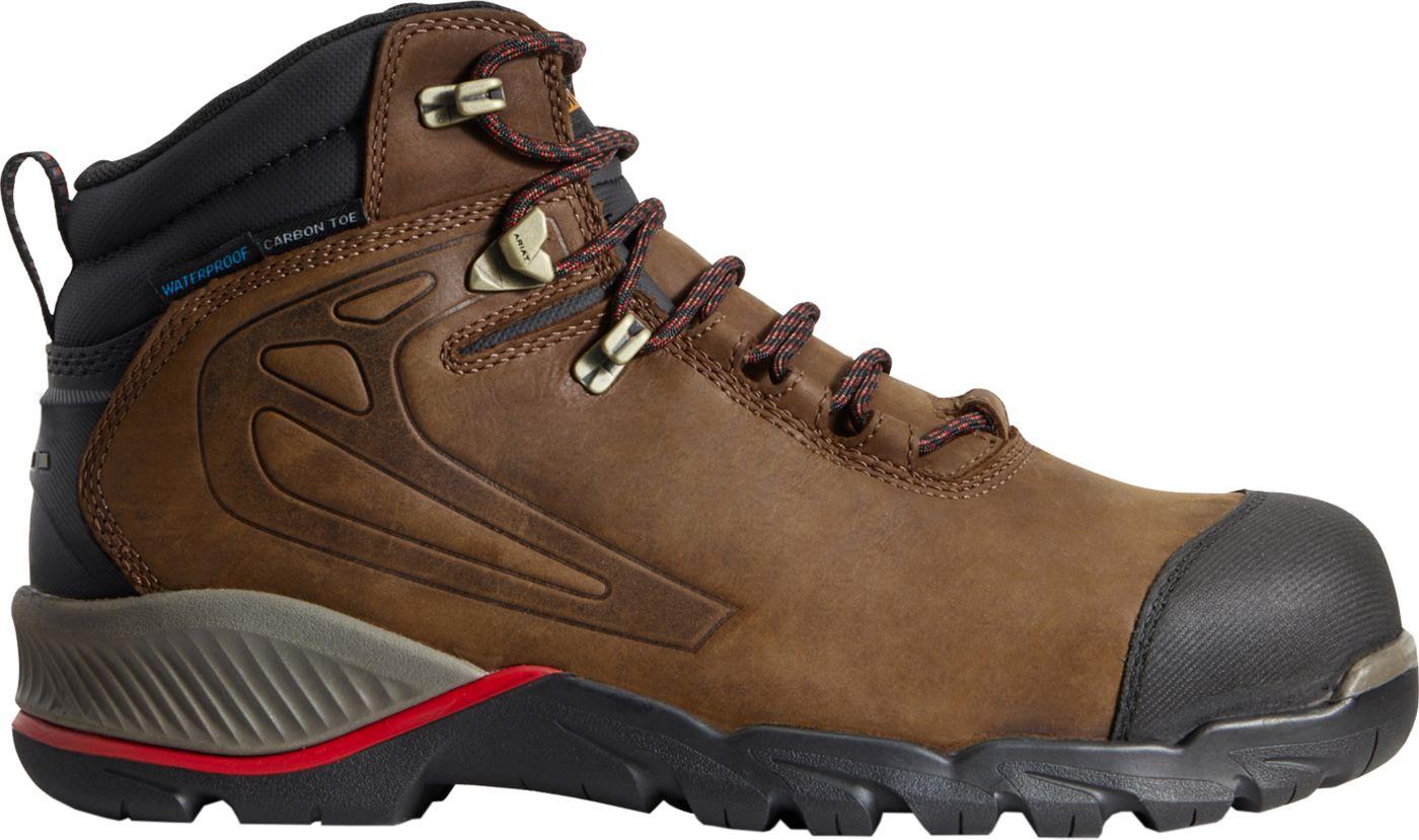 Ariat Men's Rebar Off-Road 6'' Waterproof Composite Toe Work Boots