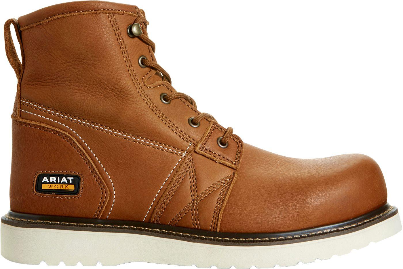Ariat Men's Wedge 6'' Composite Toe Work Boots