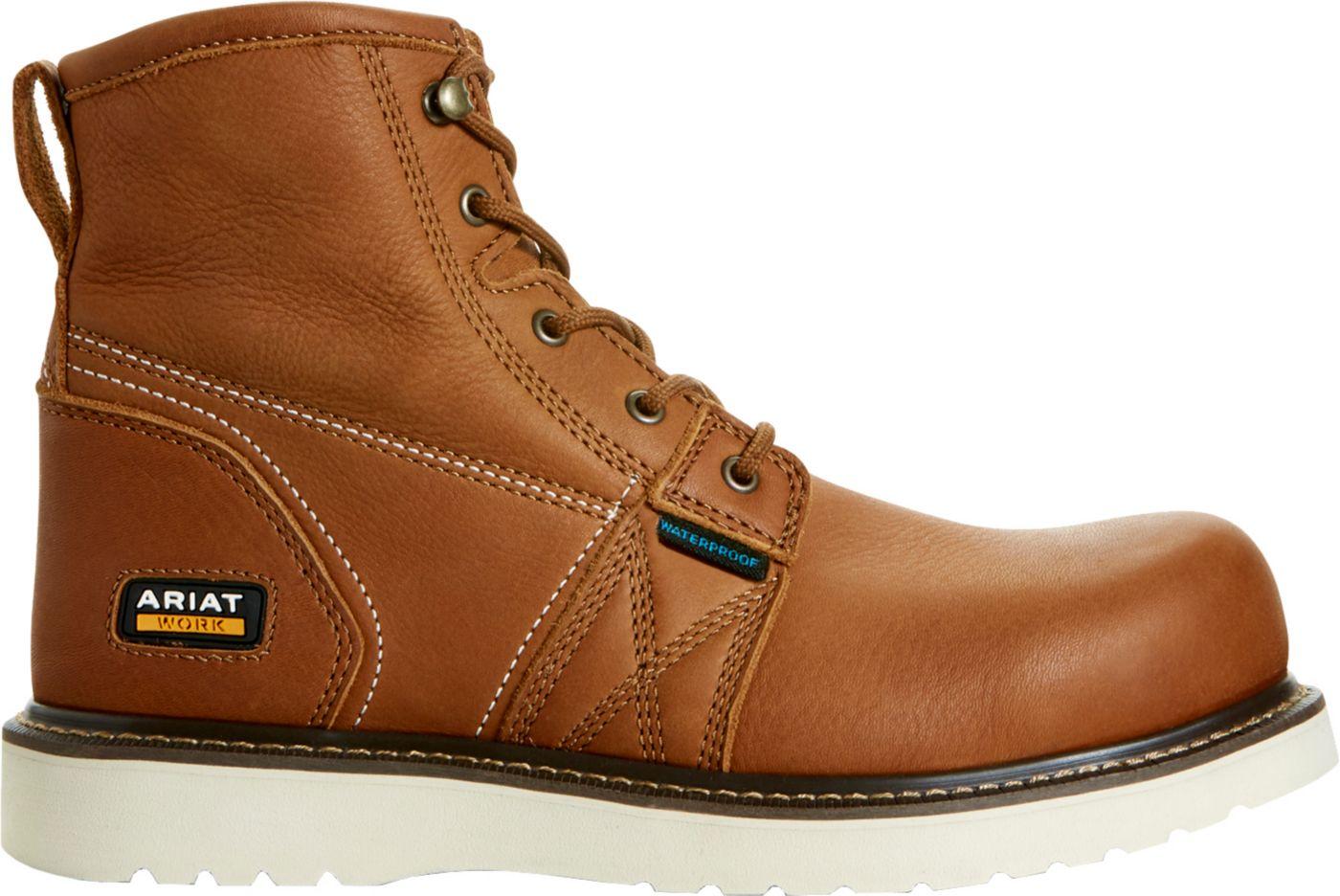 Ariat Men's Rebar Wedge 6'' Waterproof Work Boots