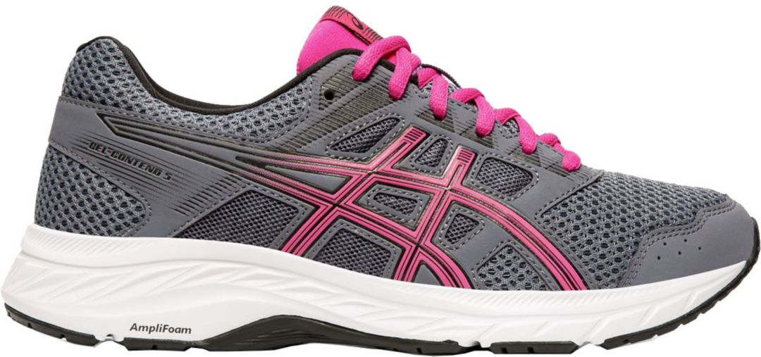 asics pink womens running shoes