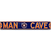 Authentic Street Signs Houston Astros 'Man Cave' Street Sign