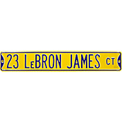 Authentic Street Signs Los Angeles Lakers Lebron James 23 Sign
