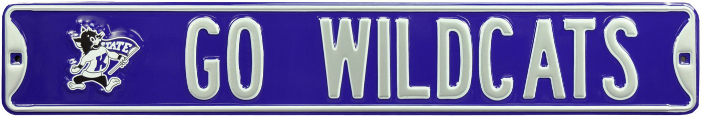 Authentic Street Signs Kansas State Wildcats Go Wildcats! Street Sign