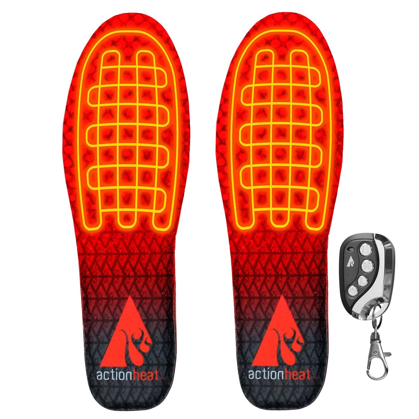 ActionHeat Adult Rechargeable Heated Insoles