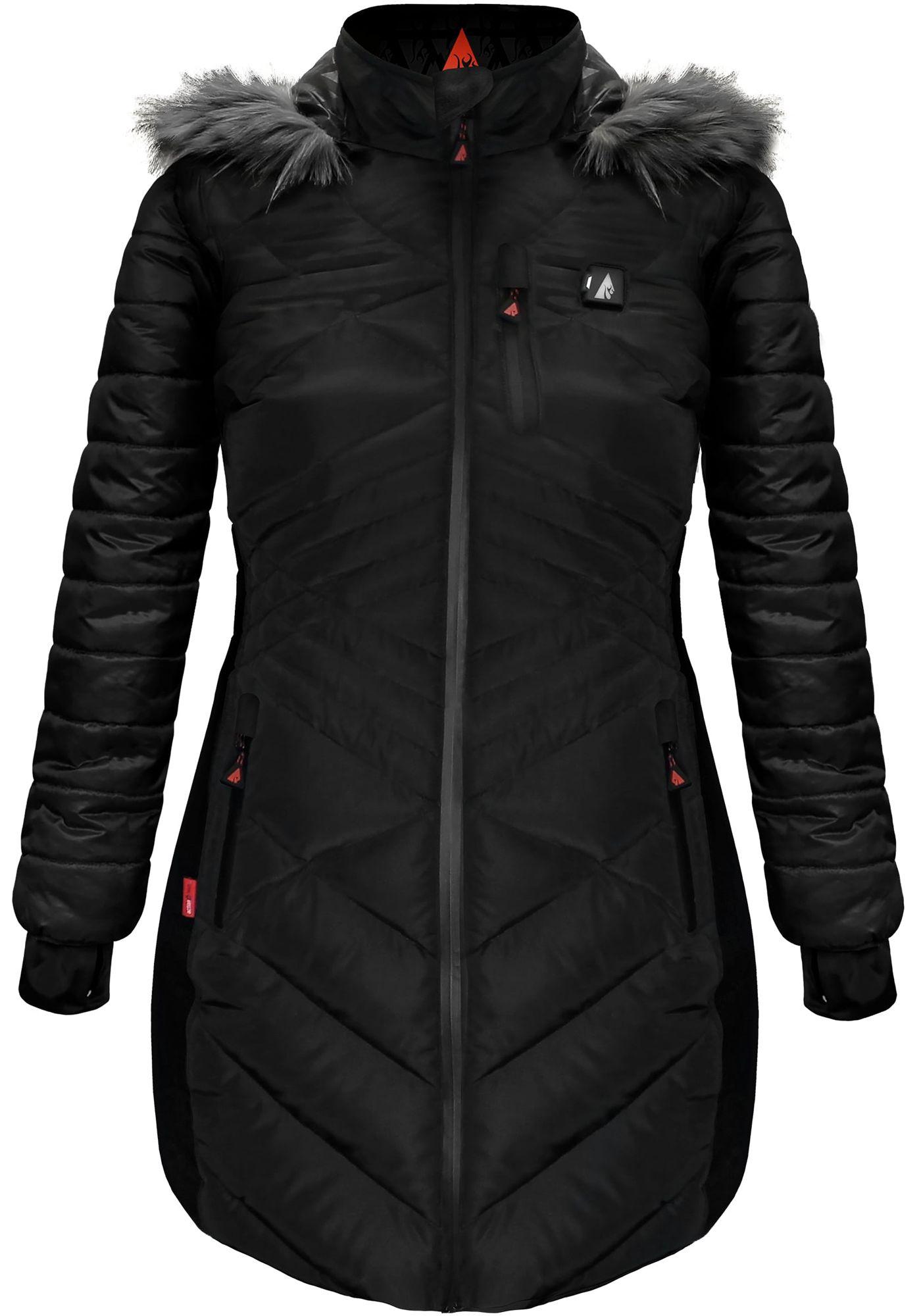 ActionHeat Women's 5V Heated Puffer Jacket
