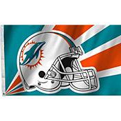Flagpole-To-Go Miami Dolphins 3' X 5' Flag