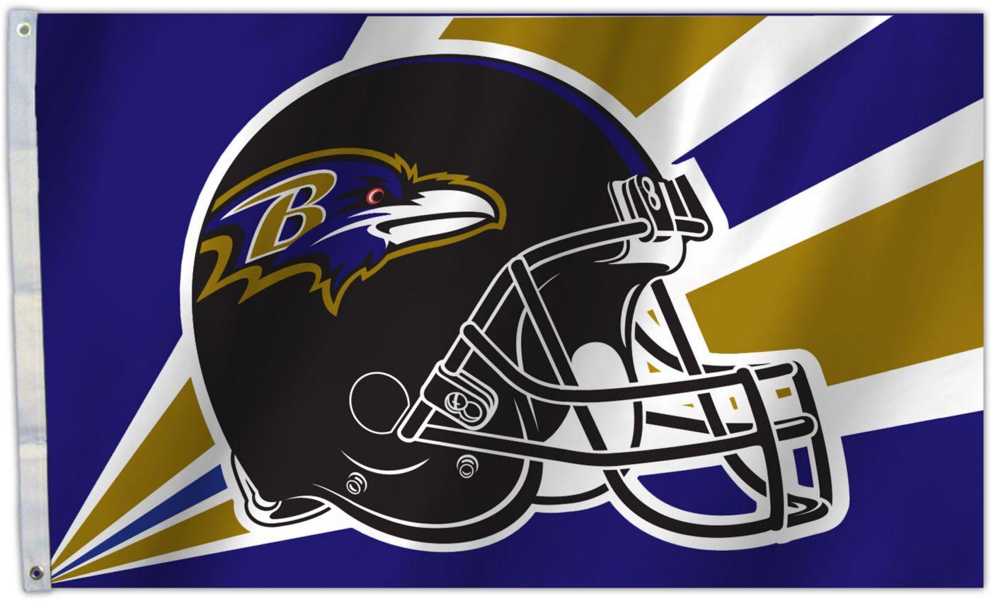 Flagpole-To-Go Baltimore Ravens 3' X 5' Flag