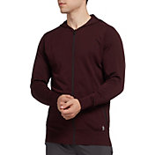 SECOND SKIN Men's Seamless Full Zip Hoodie