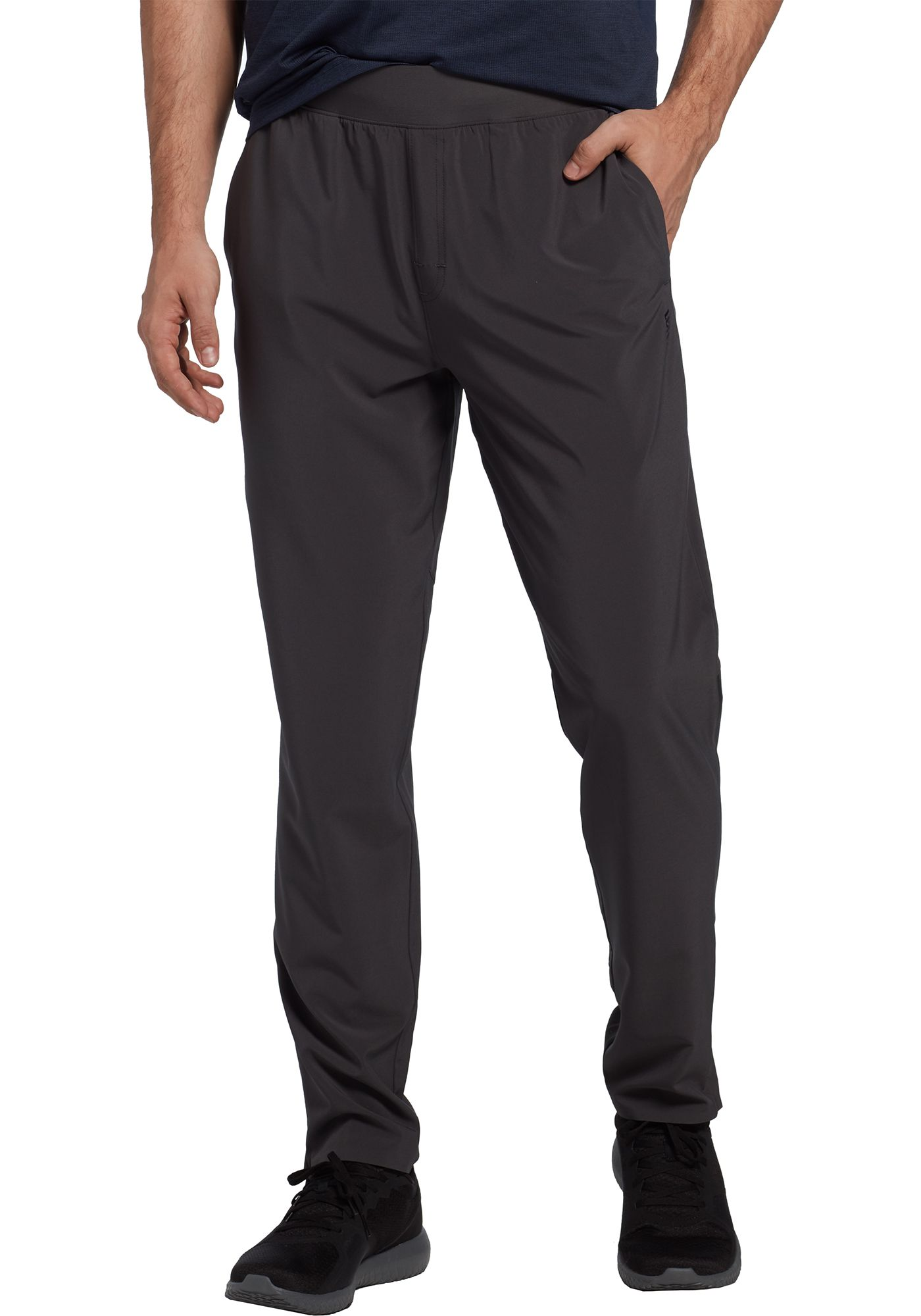 SECOND SKIN Men's Stretch Woven Taper Pants