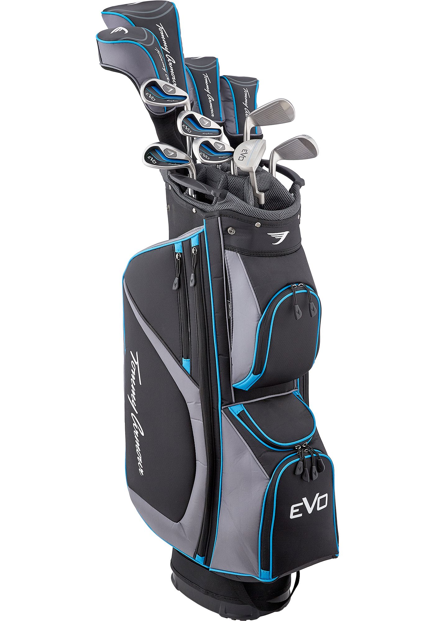 Tommy Armour EVO 16-Piece Complete Set – (Graphite/Steel)