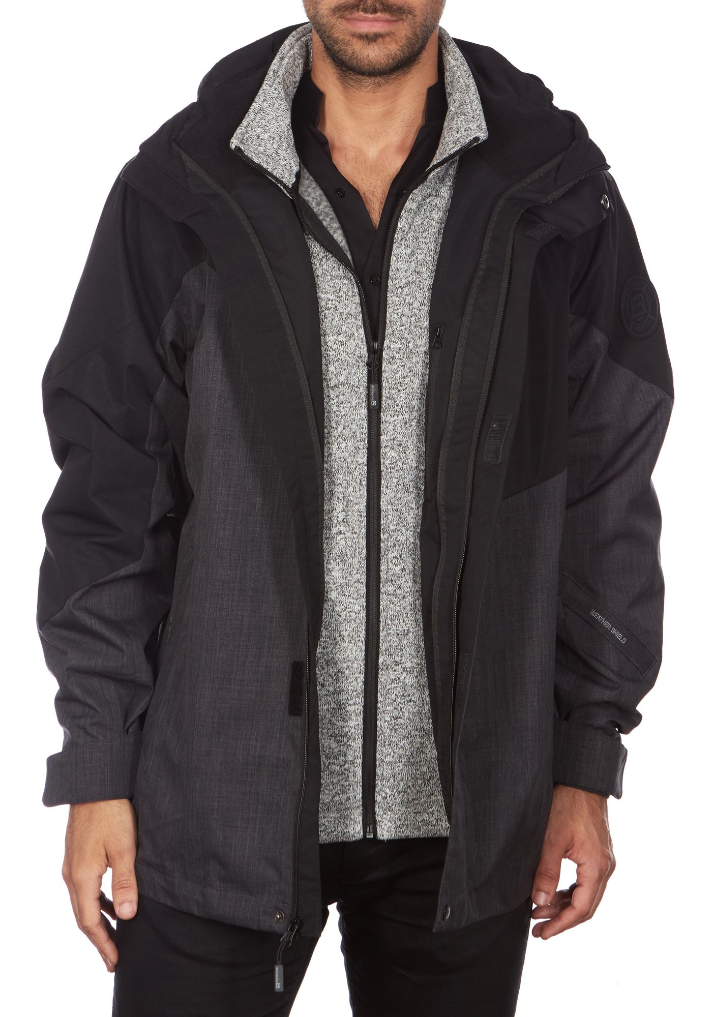Avalanche Men's Hooded 3-in-1 System Jacket
