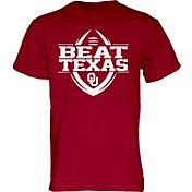 Blue 84 Men's Oklahoma Sooners Crimson 'Beat Texas' Football T-Shirt