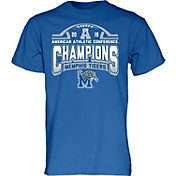 Blue 84 Men's 2019 AAC Football Champions Memphis Tigers Locker Room T-Shirt