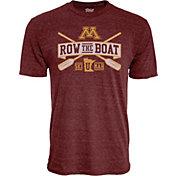 Blue 84 Men's Minnesota Golden Gophers Maroon Row the Boat Football T-Shirt