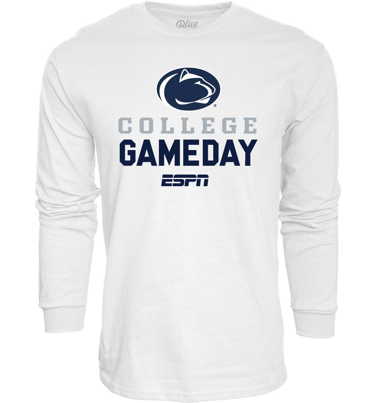 Blue 84 Men's Penn State Nittany Lions ESPN College GameDay Long Sleeve White T-Shirt