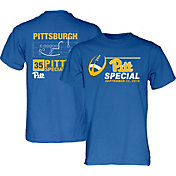 Blue 84 Men's Pitt Panthers Blue Pitt Special Football T-Shirt