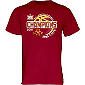 Blue 84 Men's Iowa State Cyclones 2019 Men's Basketball Big 12 Conference Tournament Champions T-Shirt