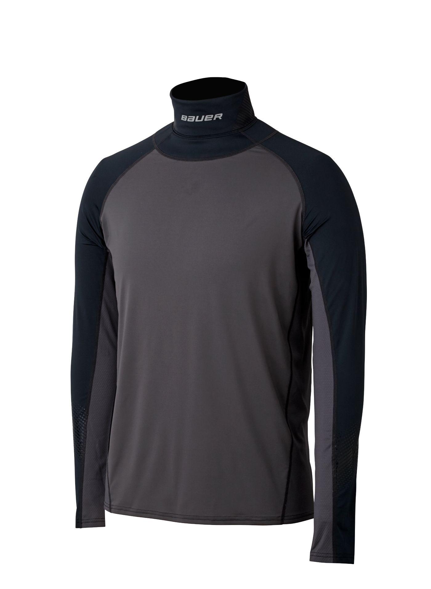 Bauer Men's Neck Protect Long Sleeve Hockey Shirt