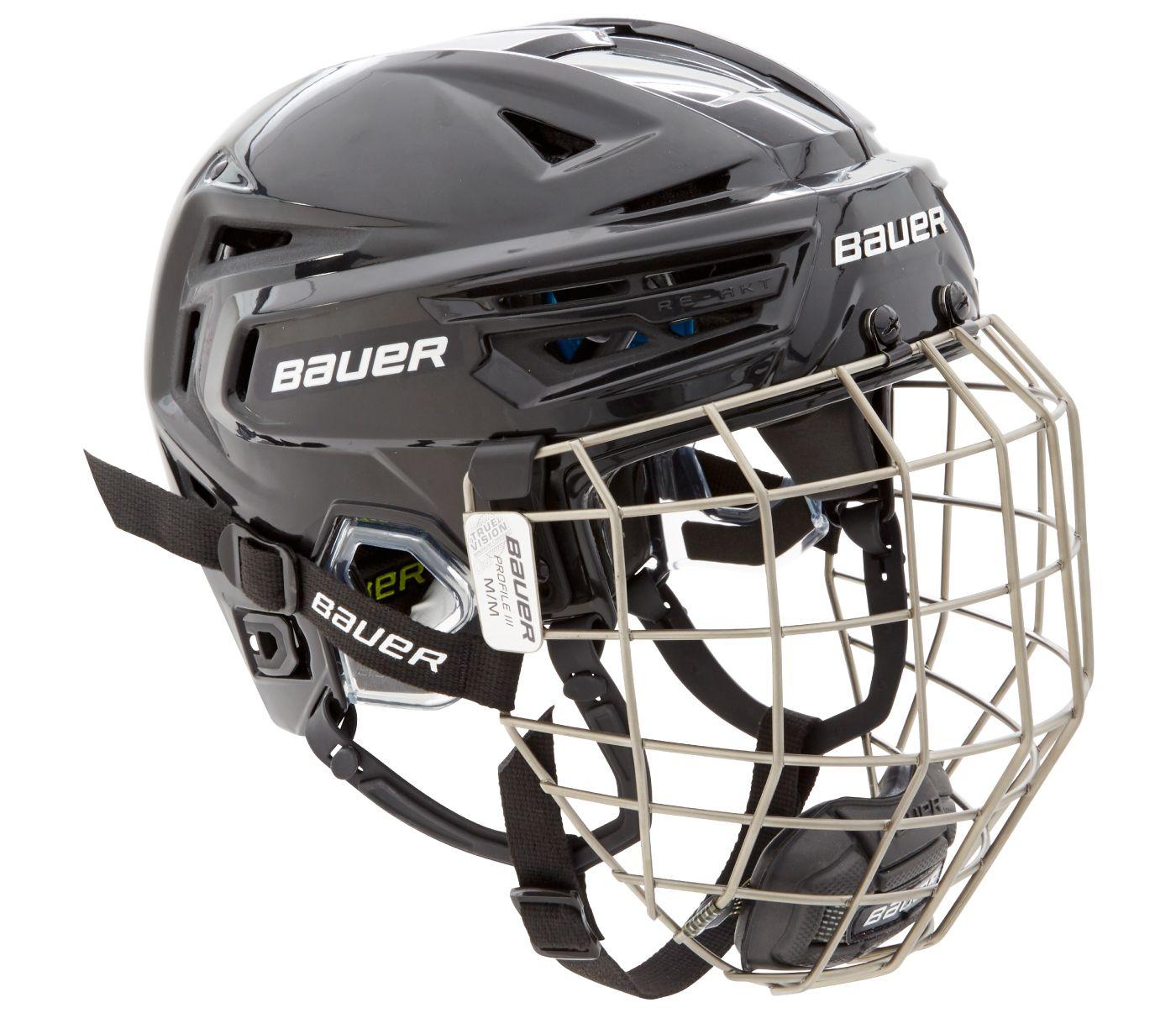 Bauer Senior RE-AKT 150 Ice Hockey Helmet Combo