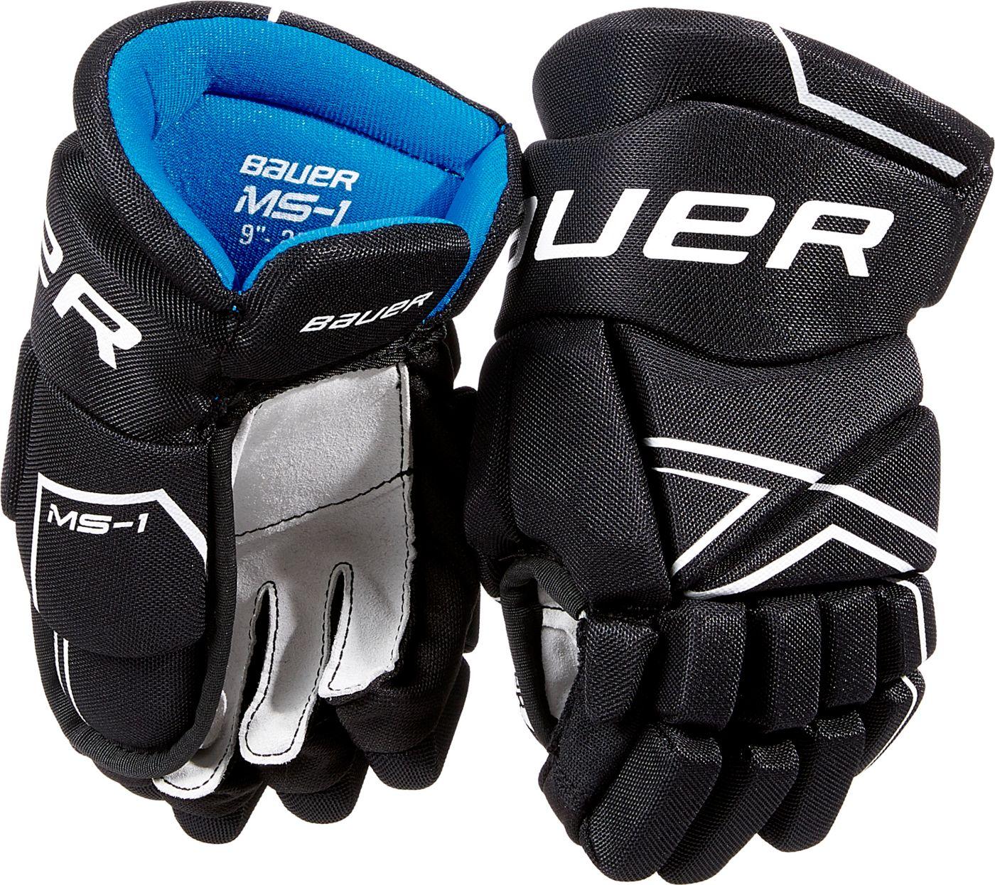 Bauer Junior MS1 Ice Hockey Gloves