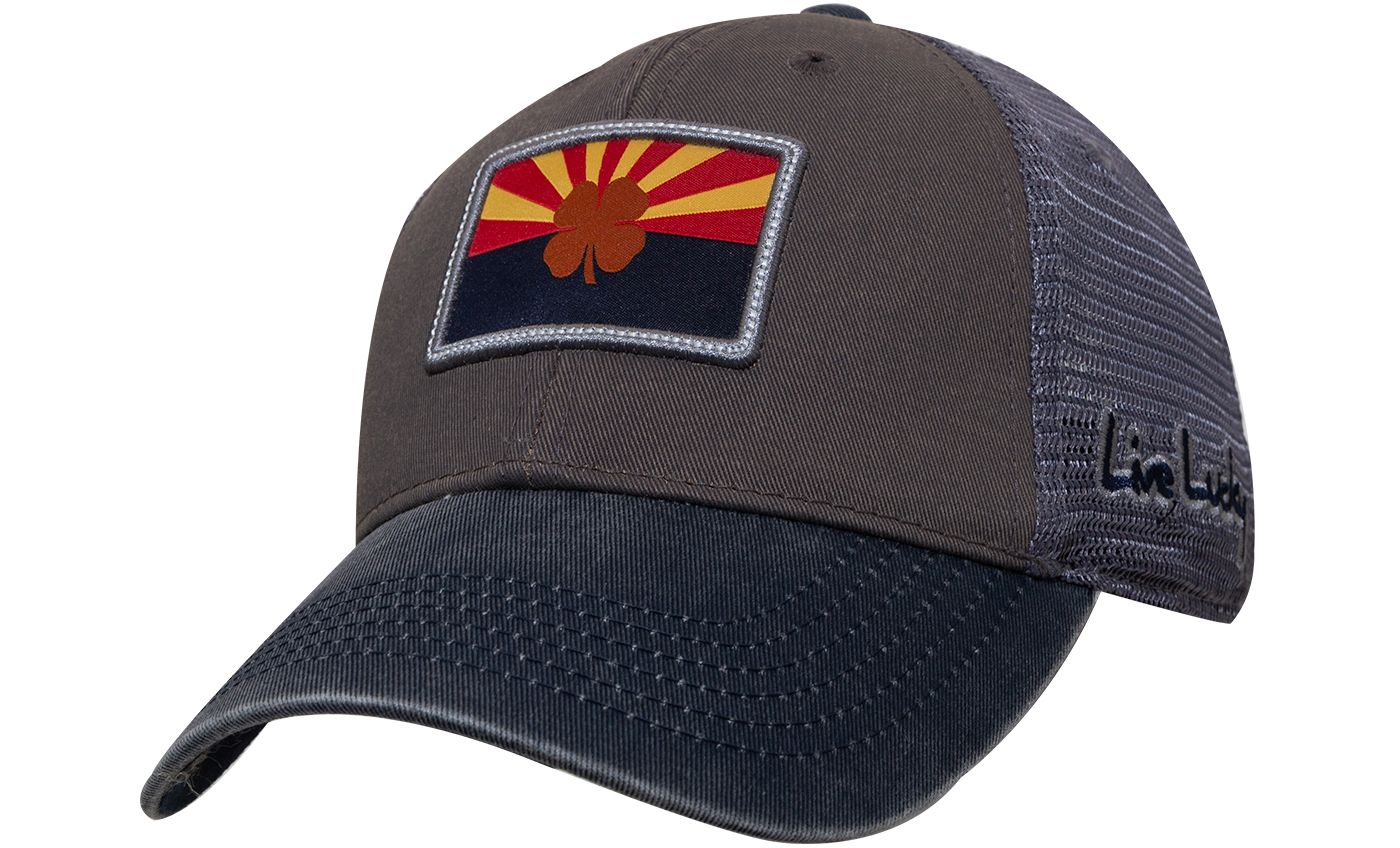 Black Clover Men's Arizona Flag Patch Golf Hat