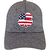 Black Clover Men's USA Heather Golf Hat