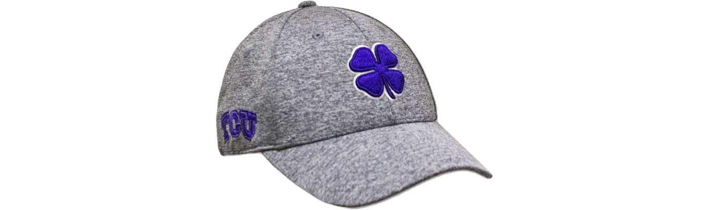 Black Clover Men's TCU Heathered Golf Hat
