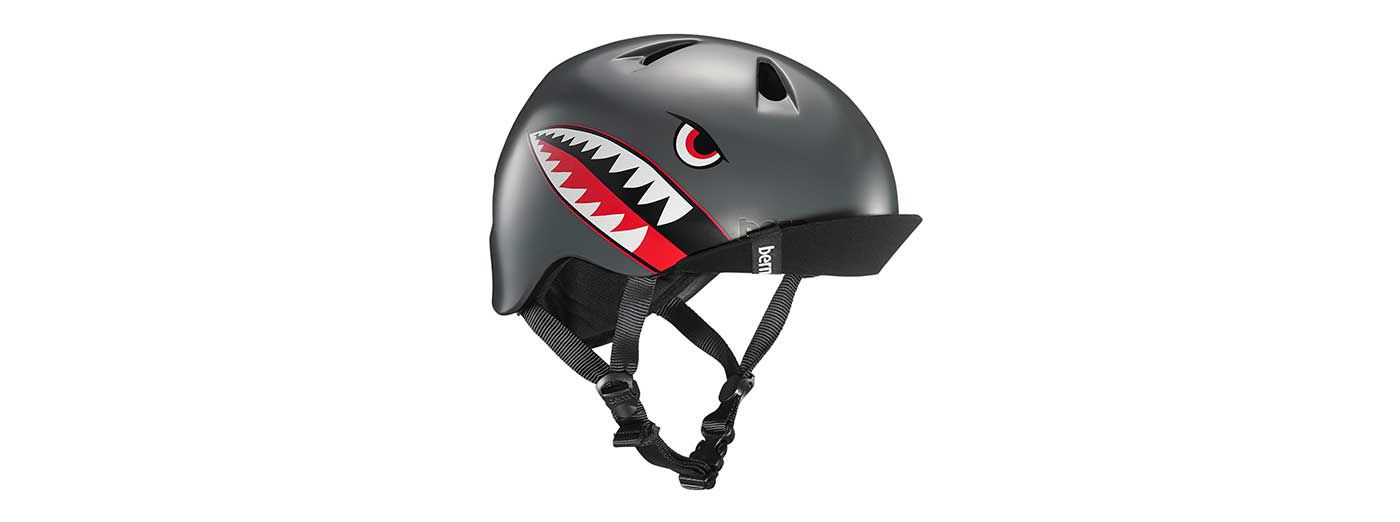 Bern Niño/Niña Youth Satin Helmet