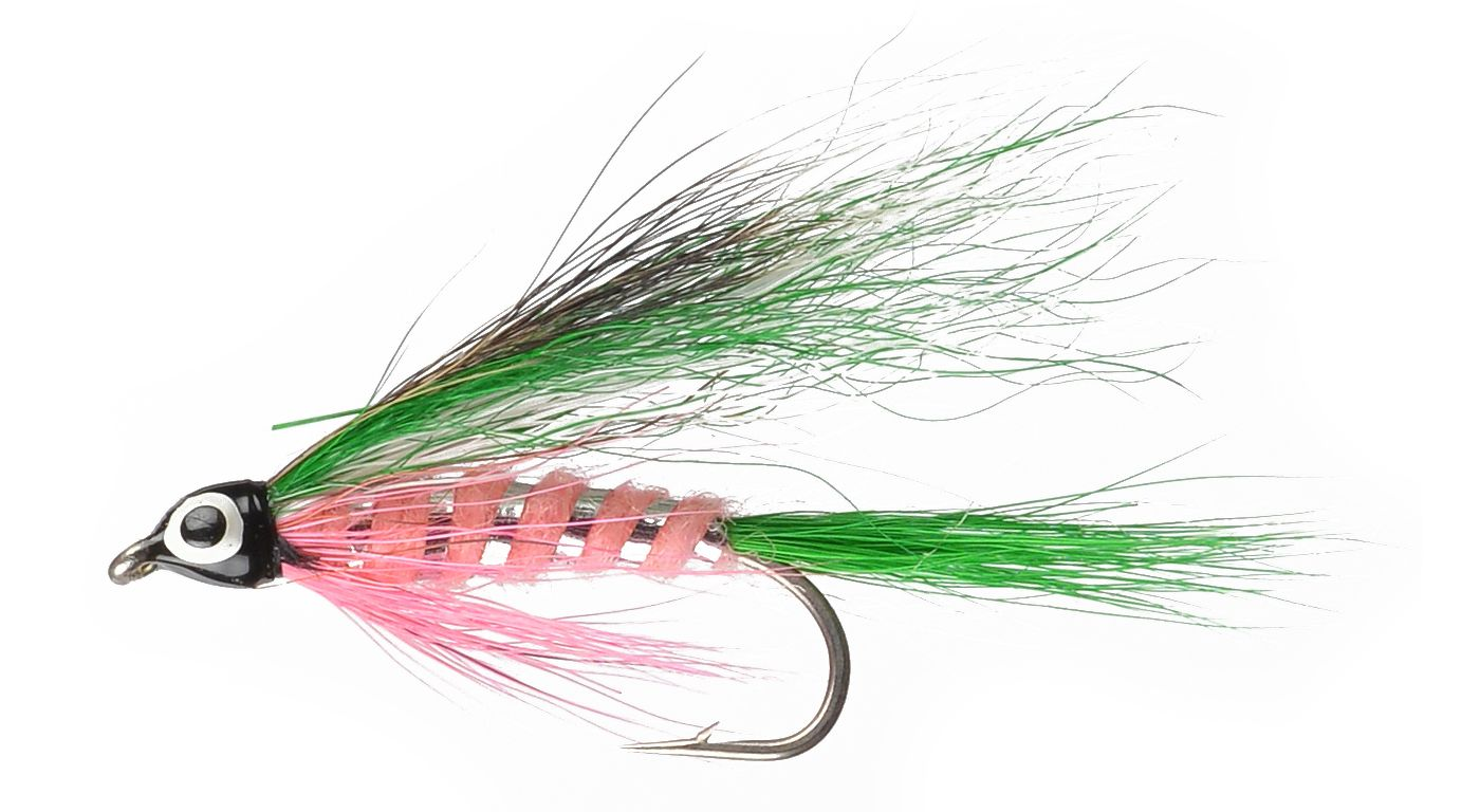 Perfect Hatch Bucktail Rainbow Trout Streamer Fly
