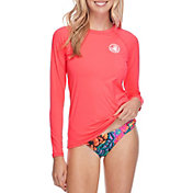 Body Glove Women's Sleek Long Sleeve Rash Guard