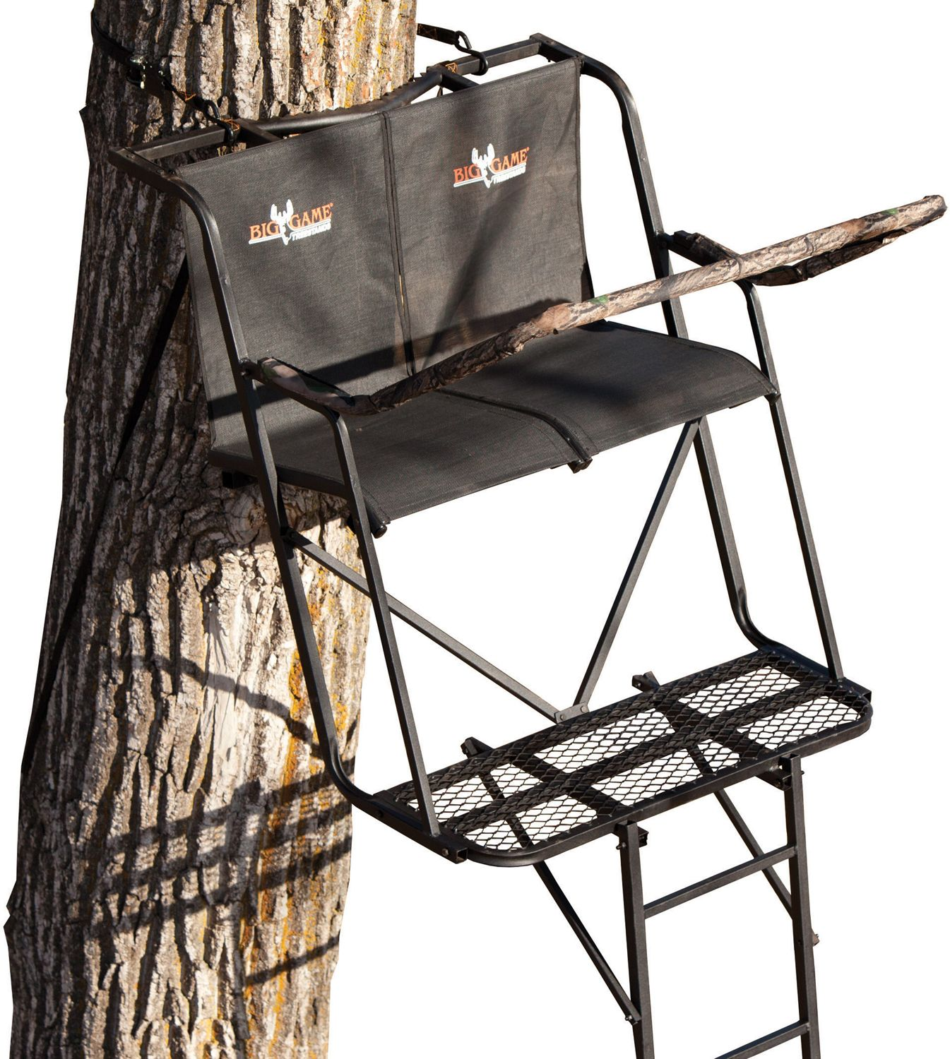 Big Game Big Buddy 16′ Ladder Stand, steel