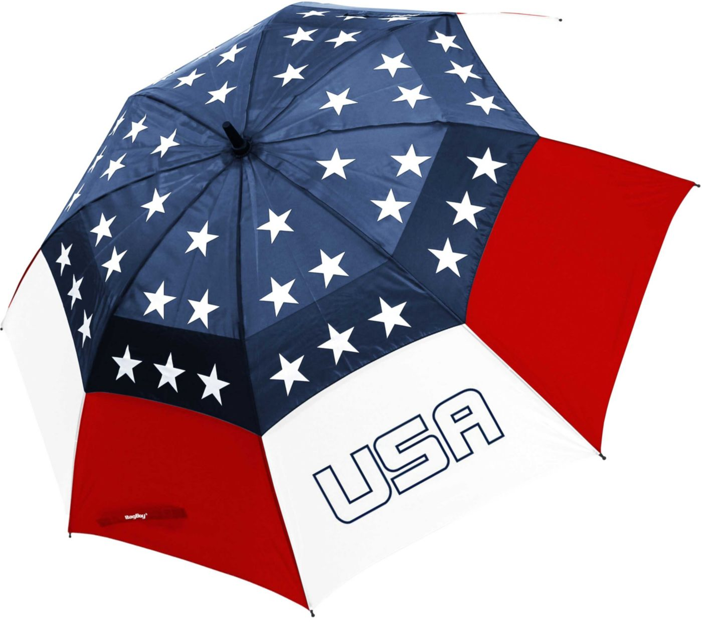 "Bag Boy Wind Vent 62"" USA Golf Umbrella"