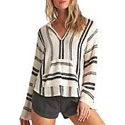 Billabong Women's Baja Beach Stripe Hooded Pullover