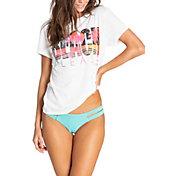 Billabong Women's Salty Beach Short Sleeve T-Shirt