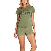Billabong Women's Wild Tropics Short Sleeve Pocket T-Shirt