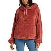 Billabong Women's Warm Regards Sherpa Pullover Hoodie