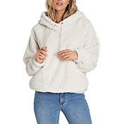 Billabong Women's Warm Regards Sherpa Pullover Hoodie