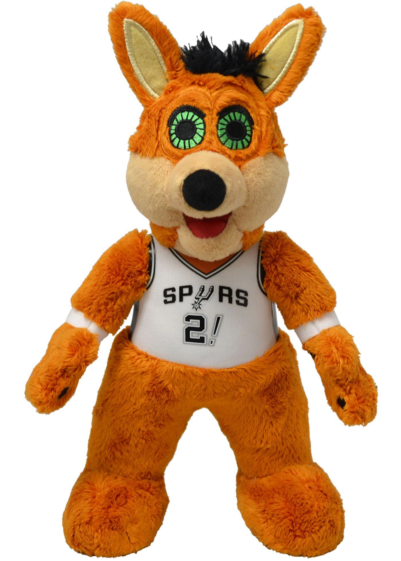 Bleacher Creatures San Antonio Spurs Mascot  Smusher Plush