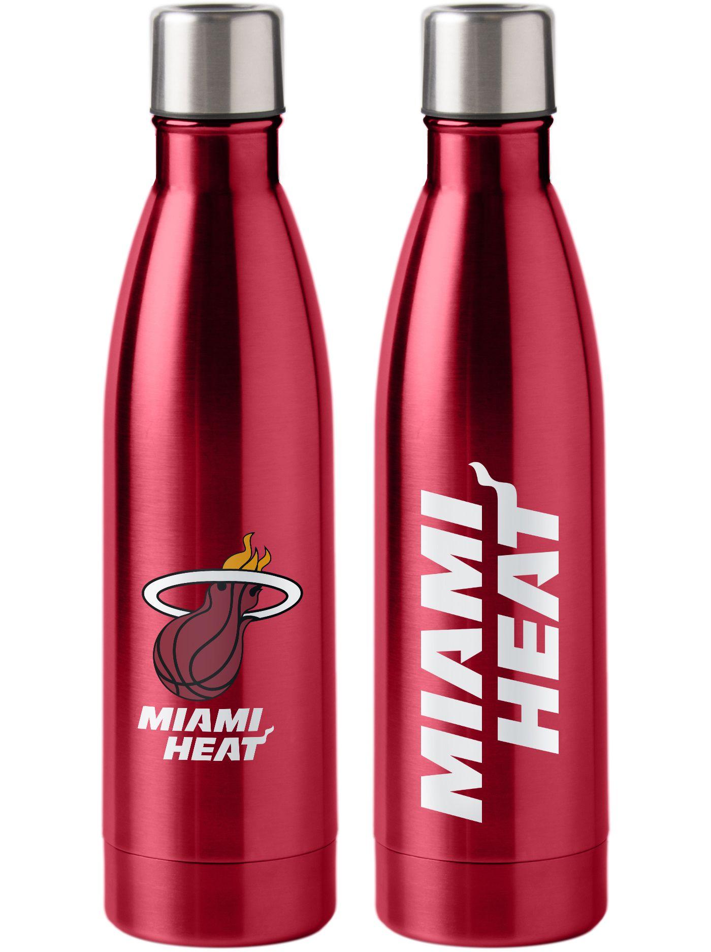 Boelter Miami Heat 15oz. Stainless Steel Mug