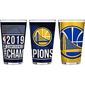 Boelter NBA 2019 Western Conference Champions Golden State Warriors 16oz. Pint Glass