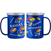 Boelter Kansas Jayhawks 15oz. Sticker Mug