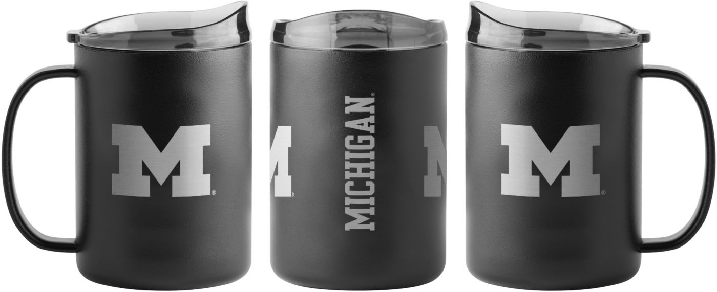 Boelter Michigan Wolverines 15oz. Stainless Steel Mug