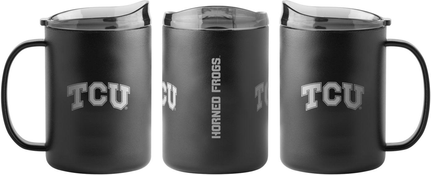 Boelter TCU Horned Frogs 15oz. Stainless Steel Mug