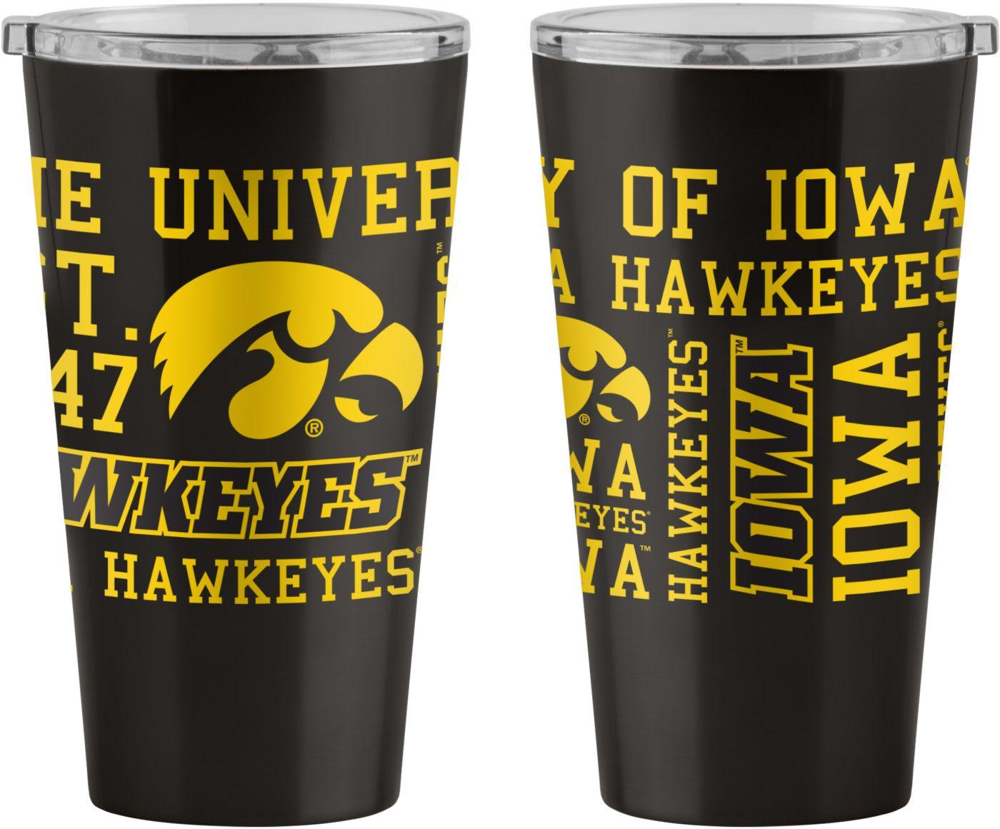 Boelter Iowa Hawkeyes 16oz. Pint Glass