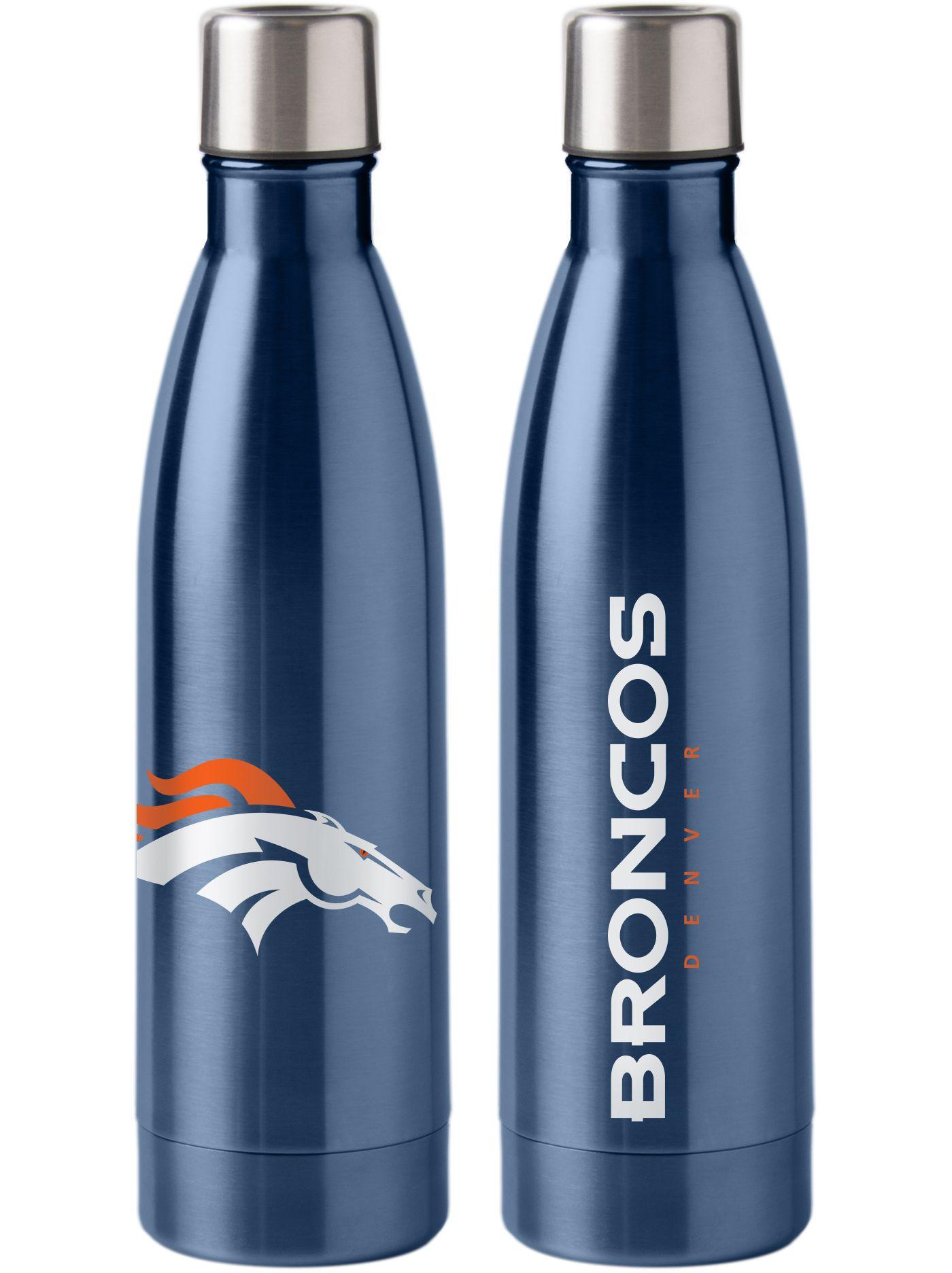 Boelter Denver Broncos Stainless Steel Water Bottle